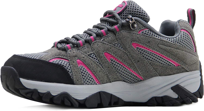 BomKinta Women's Anti-Slip Denver Mall Lightweight Hiking Q Breathable Very popular Shoes