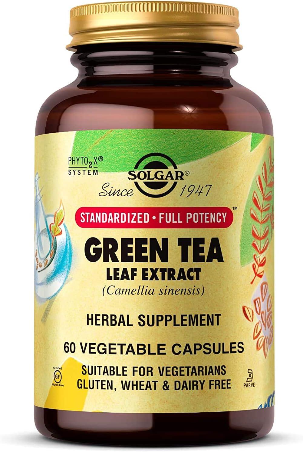 Solgar Standardized Full Potency Green Vegetabl Extract Tea Leaf Complete Free Shipping Nashville-Davidson Mall