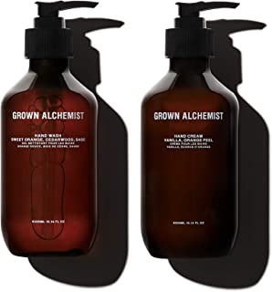 Grown Alchemist Hand Care Kit, 2 Products: Hand Wash 300ml + Hand Cream 300ml