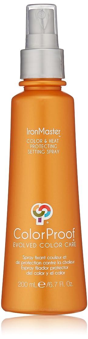 一回地味な驚くばかりColorProof Evolved Color Care ColorProof色ケア当局IronMaster色&熱は、6.7 FLを設定するスプレーを保護します。オズ。 オレンジ