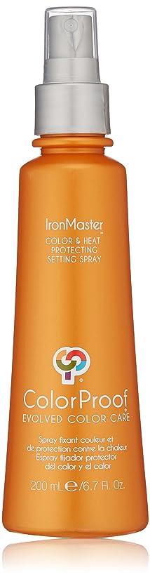 大事にする熟す輝くColorProof Evolved Color Care ColorProof色ケア当局IronMaster色&熱は、6.7 FLを設定するスプレーを保護します。オズ。 オレンジ