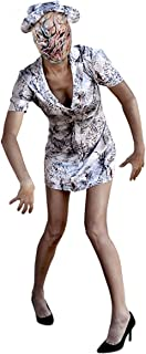 Women's Silent Hill Nurse Costume, X-Large, White