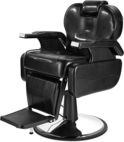 Artist Hand Heavy Duty barber chairs All Purpose Barber Chair Beauty Salon Chair Styling Chairs Black