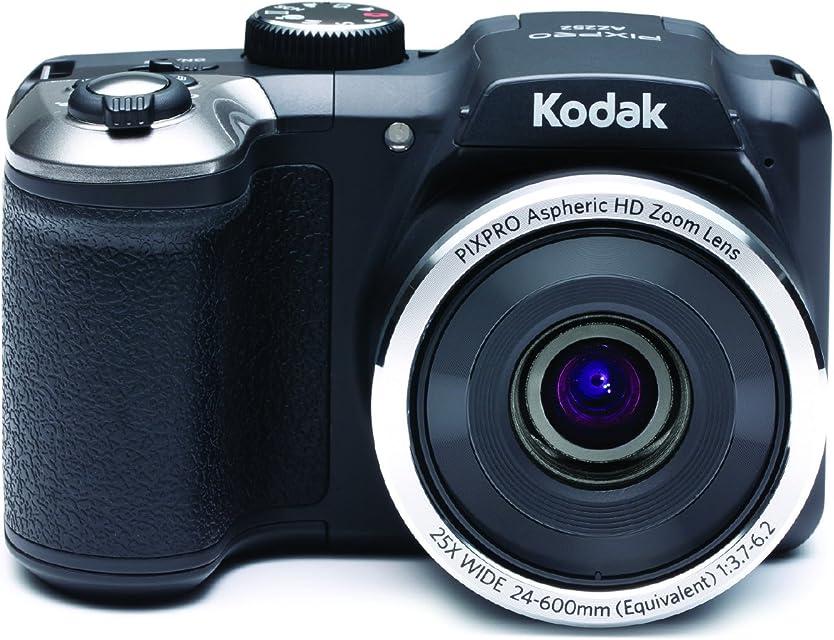 Kodak PIXPRO AZ252 Cámara Puente 16MP 1/2.3 CCD 4608 x 3456Pixeles Negro - Cámara Digital (16 MP 4608 x 3456 Pixeles 1/2.3 CCD 25x Negro)