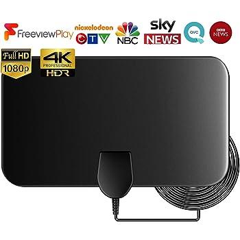 Antena de HDTV amplificada- Capítulo siete Antena de TV digital ...