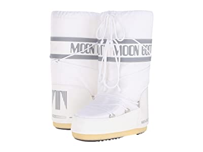 MOON BOOT Moon Boot(r) Nylon (White) Cold Weather Boots