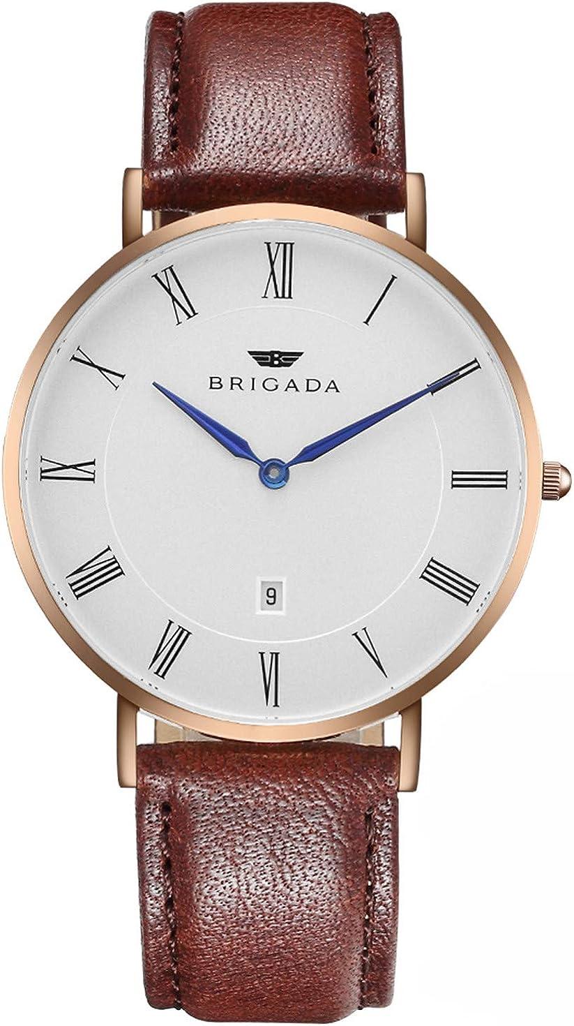 Buy Men's Watches Minimalist Fashion Business Casual Waterproof Quartz  Wrist Watch for Men Women Swiss Brand Online in Taiwan. B01DDG0ABG