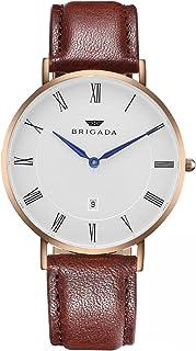 Men's Watches Minimalist Fashion Business Casual Waterproof Quartz Wrist Watch for Men Women Swiss Brand