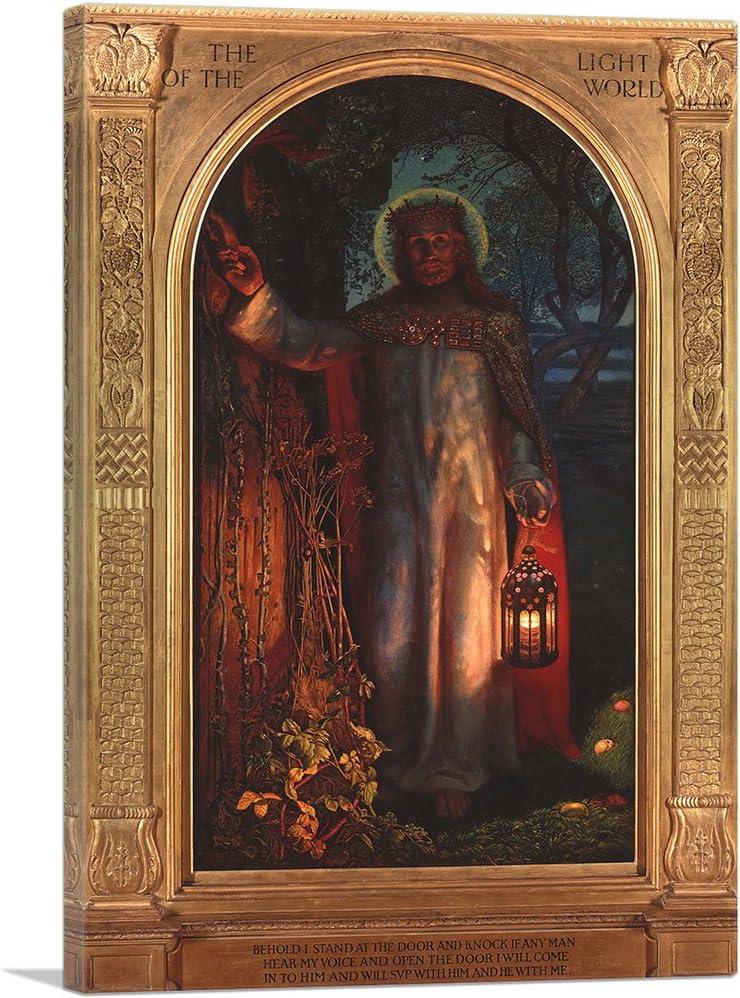 Excellent ARTCANVAS The Light of World 1851 Art Canvas Willia Print Philadelphia Mall by