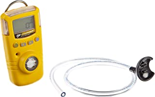 BW Technologies GAXT-H-DL GasAlert Extreme Hydrogen Sulfide (H2S) Single Gas Detector, 0-100 ppm Measuring Range, Yellow