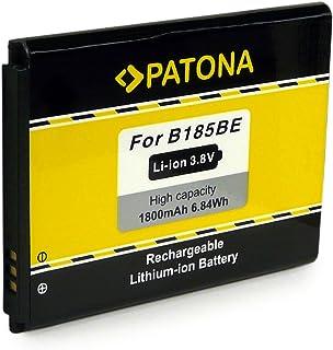PATONA Bateria EB-B185BE Compatible con Samsung Galaxy Core i8260 DuoS i8262 Plus SM-G350