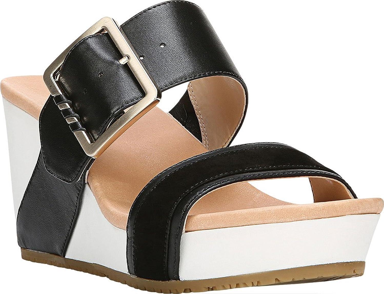 Dr. Scholl's Original Collection Women's Frill High Wedge Slide Sandal