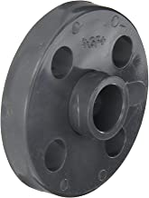 GF Piping Systems PVC Pipe Fitting, Van-Stone Flange, Schedule 80, Gray, 1/2