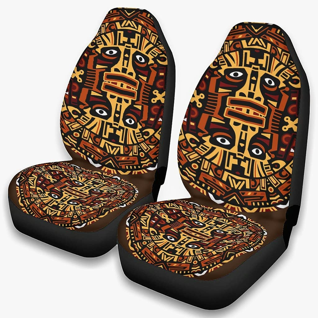 supreme Harberry 2PCS Ancient Incan Mayan shopping Seat Cars Covers Vehicle A for