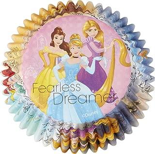 Wilton 415-7490 Disney Princess Standard Baking Liners, Assorted
