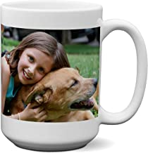 Personalized Coffee Mug - Add pictures, logo, or text to our Custom Mugs 15oz Ceramic