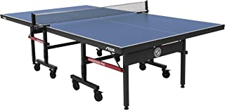 STIGA Advantage Pro Tournament-Quality Indoor Table Tennis Table 95% Preassembled Out of the Box with Professional-Level Net and Post Set