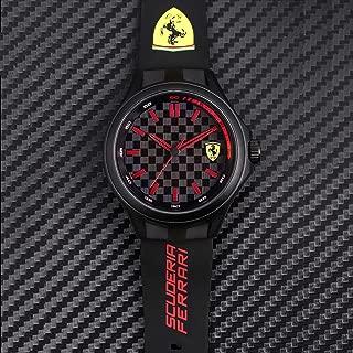Scuderia Ferrari Analog Black Dial Men's Watch-0830643