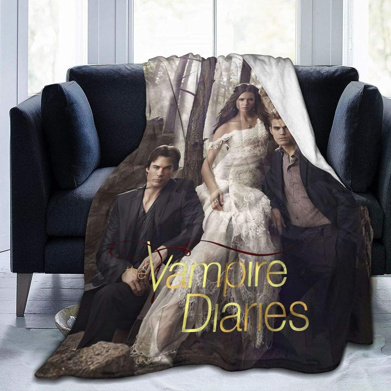 CNAOWHG 登場大人気アイテム 新作からSALEアイテム等お得な商品 満載 The Vam-pire D-iaries Blanket Fleece Flannel Ultra-Soft