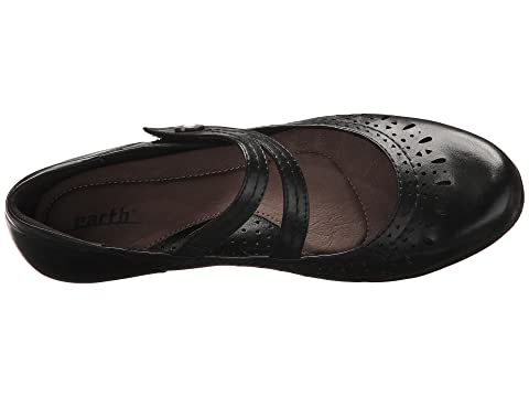 Cheap Sale Fashionable Perfect Cheap Price Earth Dione Black Soft Burnished Leather Footlocker Finishline Cheap Online Clearance Authentic vF2g29c