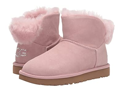UGG Classic Bling Mini (Pink Crystal) Women