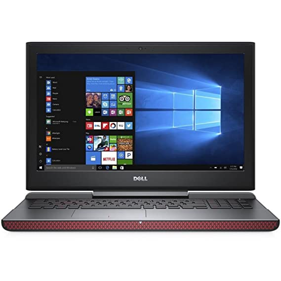 Dell Inspiron Gaming 7567-7th Gen (i7-7700HQ/8GB/1TB+128 GB SSD/ Windows 10 Home/GTX 1050Ti 4 GB Graphins/ Ms Office 2016 H & S)
