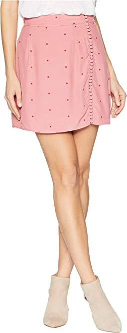 Rosie Dot Mini Skirt