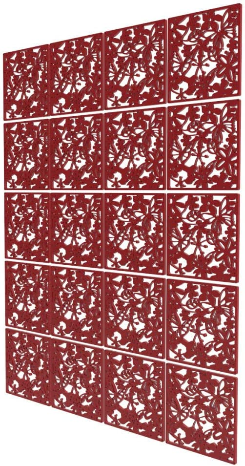 20 Pcs Safety Room Divider - inch Red 79 x Max 51% OFF 63 Scr Branded goods