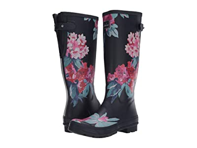Joules Welly Print (Navy Floral) Women