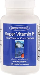 Allergy Research Group, Super Vitamin B Complex, 120 Veggie Caps
