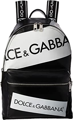 Dolce & Gabbana Tape Logo Backpack