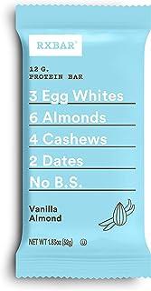RXBAR, Vanilla Almond, Protein Bar, 1.83 Ounce (Pack of 12), High Protein Snack, Gluten Free