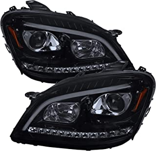 Carpartsinnovate For 06-11 Benz W164 ML350 ML500 Smoke lens LED Sequential Projector Headlights