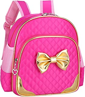 Fanci Bowknot Princess Style Toddler Kids School Backpack Bookbag for Girls Pre School Kindergarten