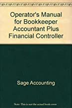 Operator's Manual for Bookkeeper Accountant Plus Financial Controller