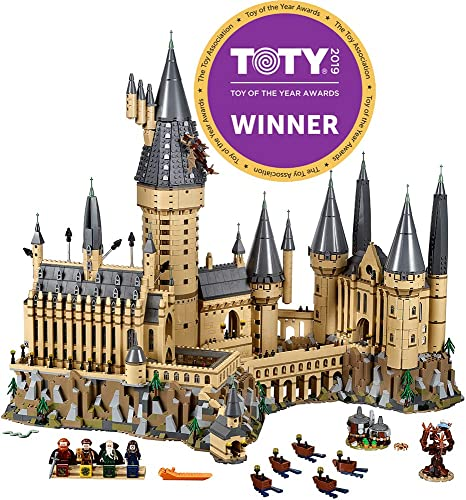 new arrival LEGO lowest Harry Potter Hogwarts Castle 71043 Castle Model Building Kit with Harry Potter Figures Gryffindor, Hufflepuff, high quality and More (6,020 Pieces) outlet online sale