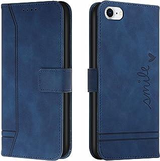 Hoesje voor iPhone 8/7/iPhone SE 2020 4.7inch Wallet Book Case, Magneet Flip Wallet Beschermende Telefoonhoes met Kaarthou...