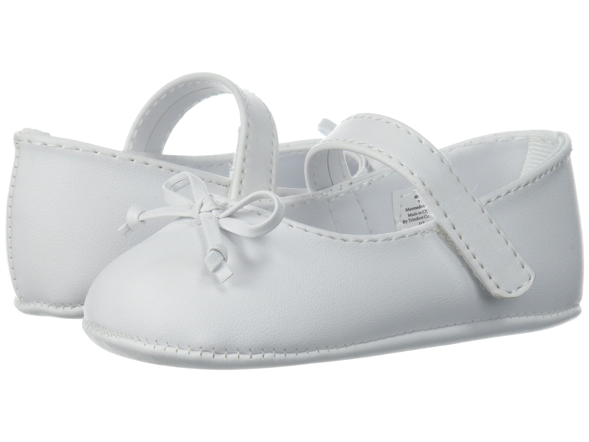 baby deer soft sole ballet with bow (infant)