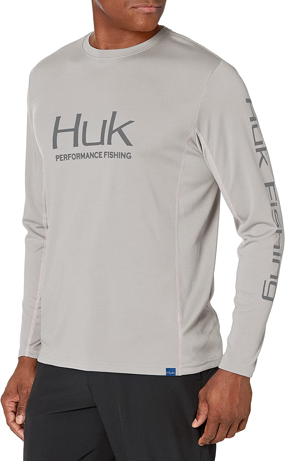 HUK Men's Icon X Long-Sleeve Performance Shirt with UPF 30+ Sun Protection