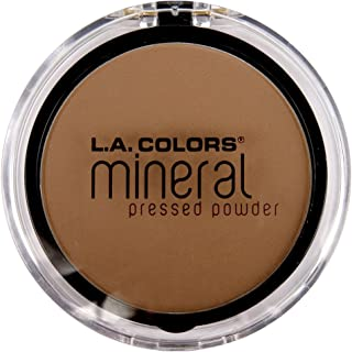 la colors mineral pressed powder creamy cocoa