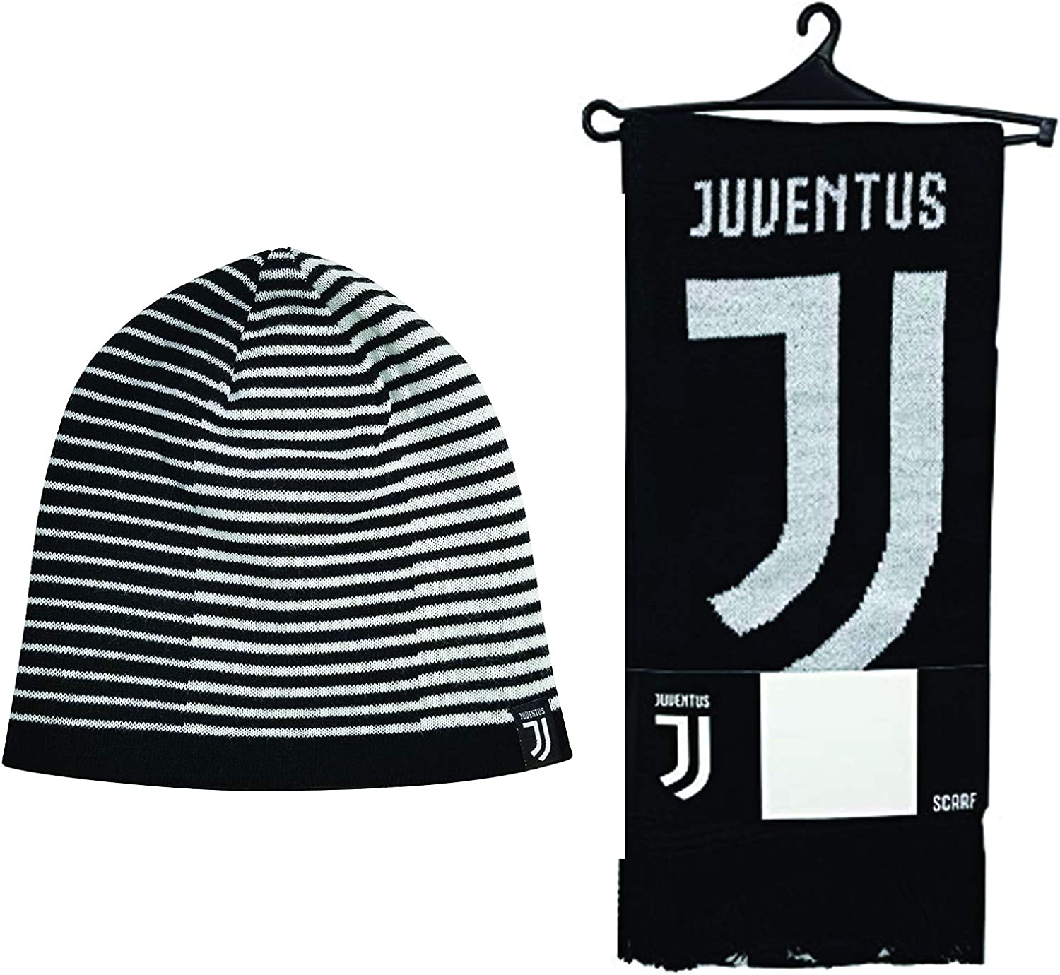 Icon Sports 5% OFF Compatible with Juventus Scarf 25% OFF FC Set of Reversible