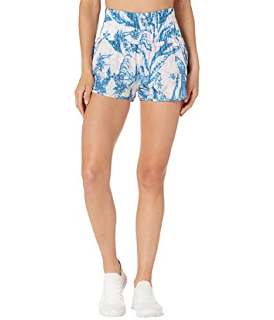 FP Movement The Way Home Shorts Printed (White Combo) Women