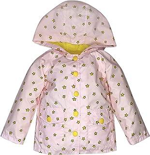 YNIQ Girls' Unicorn Print Raincoat for Toddler Girls