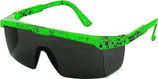 Semi Rimless Performance Wrap Around Sport Style Retro Mirrored Unisex Sunglasses