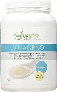 Naturlider Colageno Con Magnesio (Vainilla) 540G 610 g
