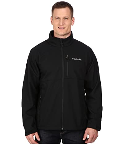 Columbia Plus Size Ascendertm Softshell Jacket (Black) Men