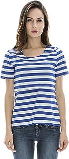 Bearsland Women's Maternity Short Sleeves Maternity Nursing Tops and Breastfeeding Shirts