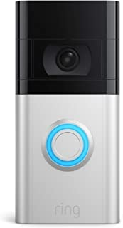 All-new Ring Video Doorbell 4 – improved 4-second colour video previews plus easy installation, and enhanced wifi – 2021 r...