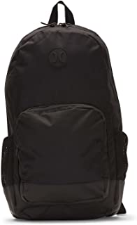 Hurley Men's Renegade Solid Laptop Backpack, black, QTY