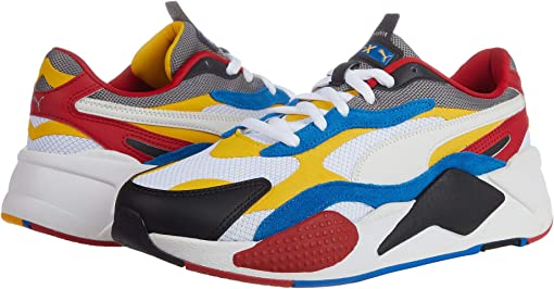 Puma White/Spectra Yellow/Puma Black